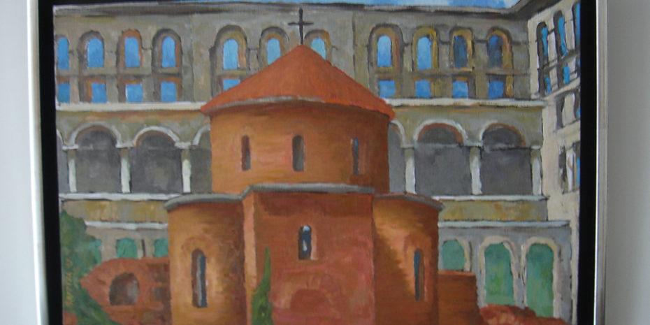 St Geroge Rotonda Oil Painting by Nadezhda Kouteva